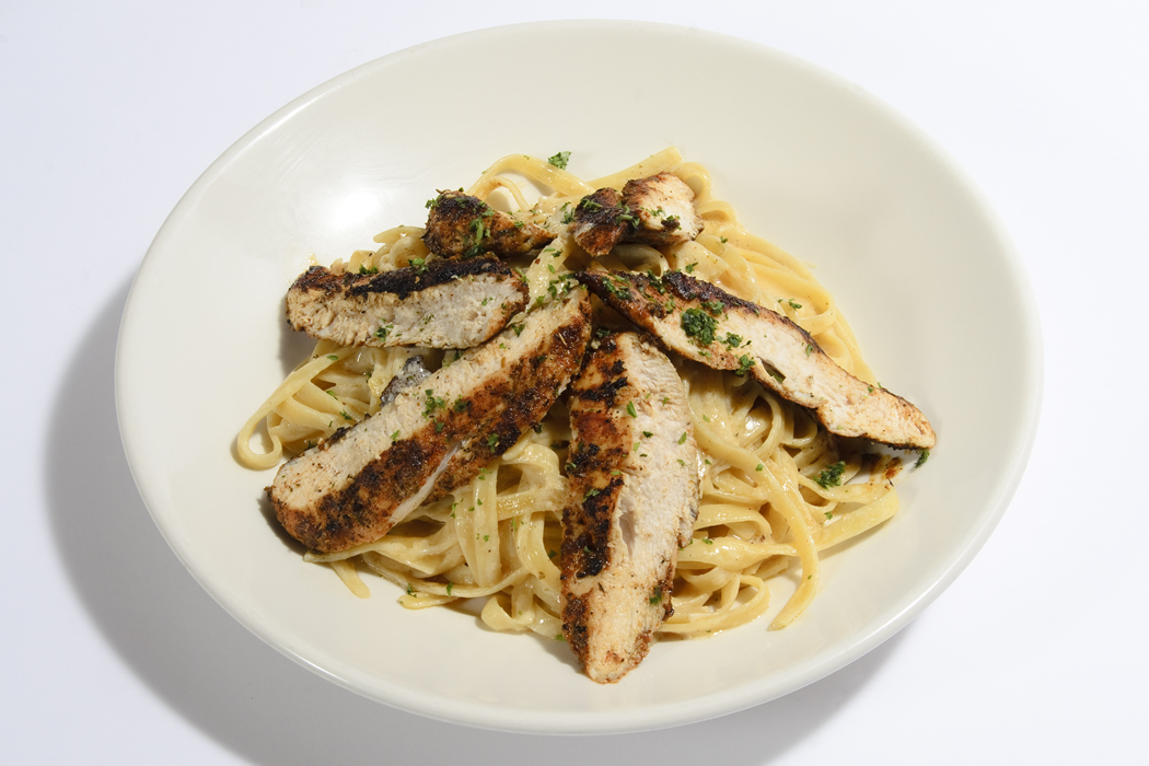 Blackened Chicken Pasta With Creamy Angel Hair Pasta ...